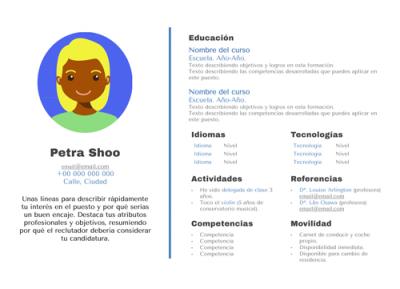 Modelo de Curriculo Petra Shoo